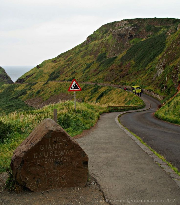 Giant's Causeway, just ahead. Ireland travel tips | Ireland vacation | IrelandFamilyVacations.com