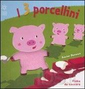 I tre porcellini (fiabe da toccare) Xavier Deneux (Autore) Copertina rigida: 14 pagine Editore: Franco Cosimo Panini (6 ottobre 2008) Collana: Fiabe da toccare Lingua: Italiano ISBN-13: 978-8824804103