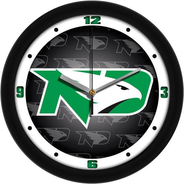 New - North Dakota Fighting Hawks-Dimension Wall Clock