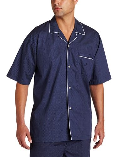 #Nautica Men's Woven Mediterranean Dot Campshirt, Peacoat, Large Nautica http://www.amazon.com/dp/B00332FWCI/ref=cm_sw_r_pi_dp_CLkPub0BJMCJB