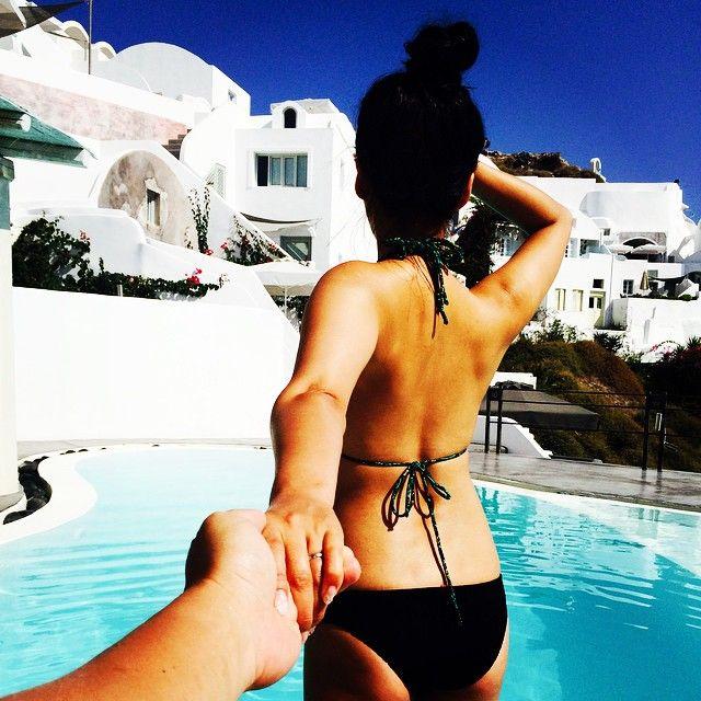 Follow me to the #Paradise! #AndronisExperience #Santorini #LuxuryHotel Photo credits: @jooboogram