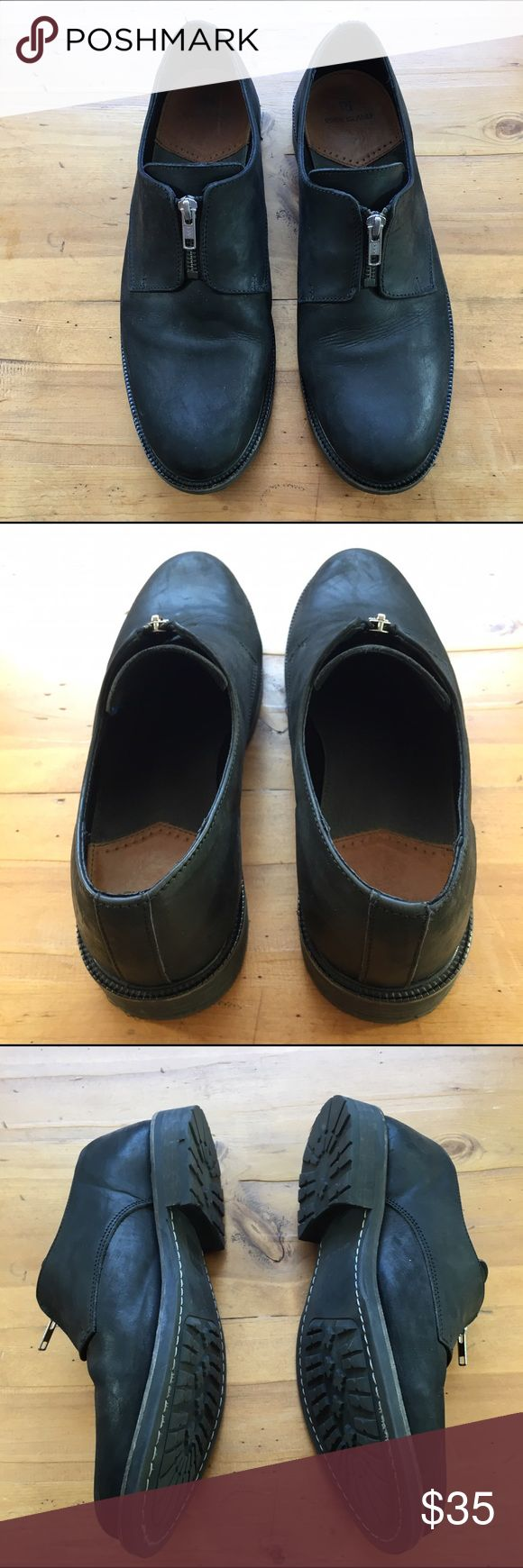River Island Mens Leather Shoes Like new and in excellent condition black size 10 beautiful shoes heel approximately 1 inch 💕💕 River Island Shoes