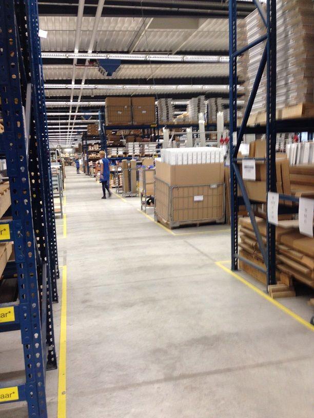 Fabriekshal van ETAP