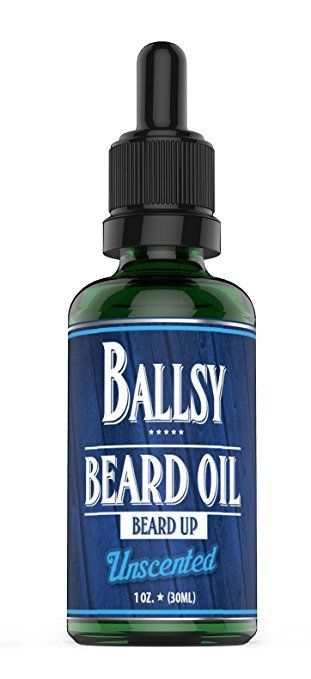 BALLSY Beard Oil Leave-In Conditioner–All Natural Organic Argan & Jojoba Oil & More–Promote Growth,… Review