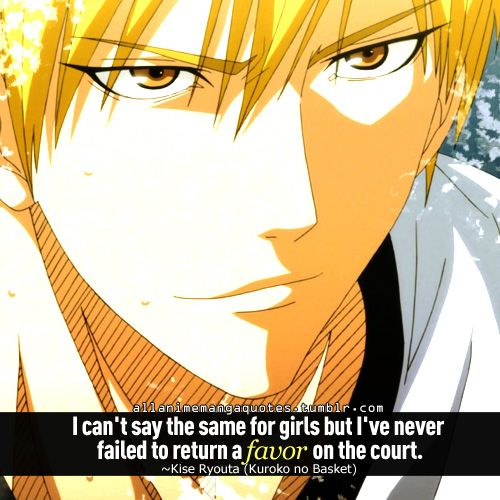 Anime With Rude Quote: 13 Best Kuroko No Basket Images On Pinterest