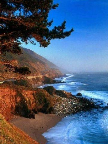 Big Sur | Big Sur California Wallpaper | iPhone | Blackberry