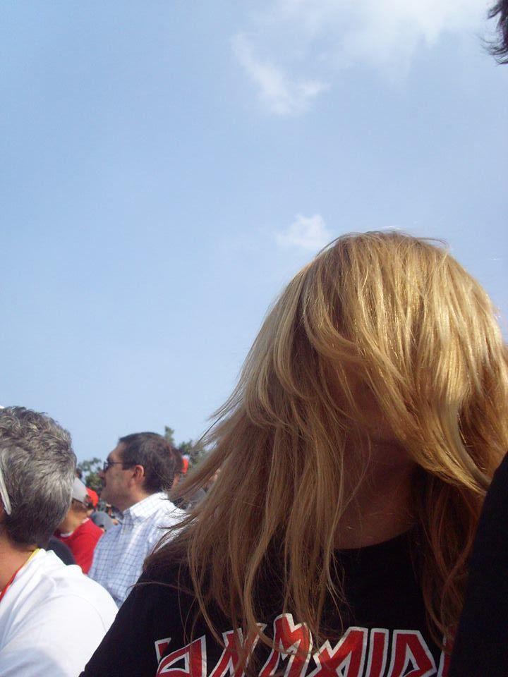 Cugino It - Primo Eso (Addam's Family), también estaba en la Tribuna. Foto a traición... Monza Speedway 2014 - (Monza, Italia) 28/09/2014