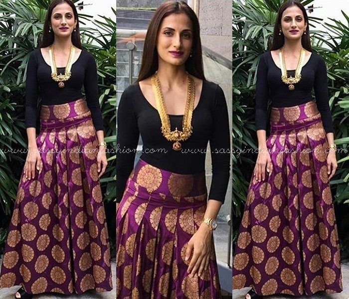 Indo Western Outfits for Weddings, Indo Western Dresses for Engagements, Indian Fusion Wear Ideas