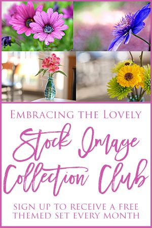Free Stock Images at the Embracing the Lovely Stock Image Collection Club- Floral Theme