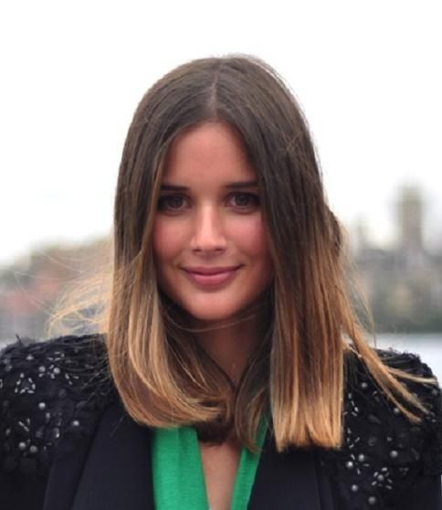 10 best images about hair on pinterest side fringe bangs - Long bob ombre ...