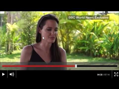 Angelina Jolie Breaks Silence About her Breakup Body- Language analysis