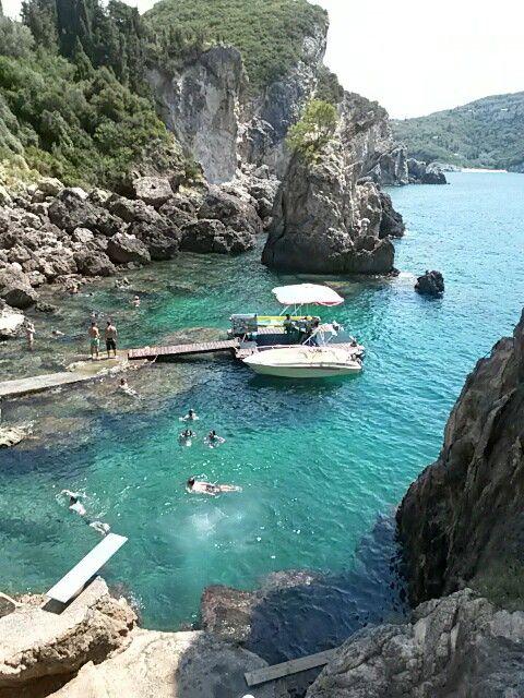 La Grotta cave,Corfu,Greece