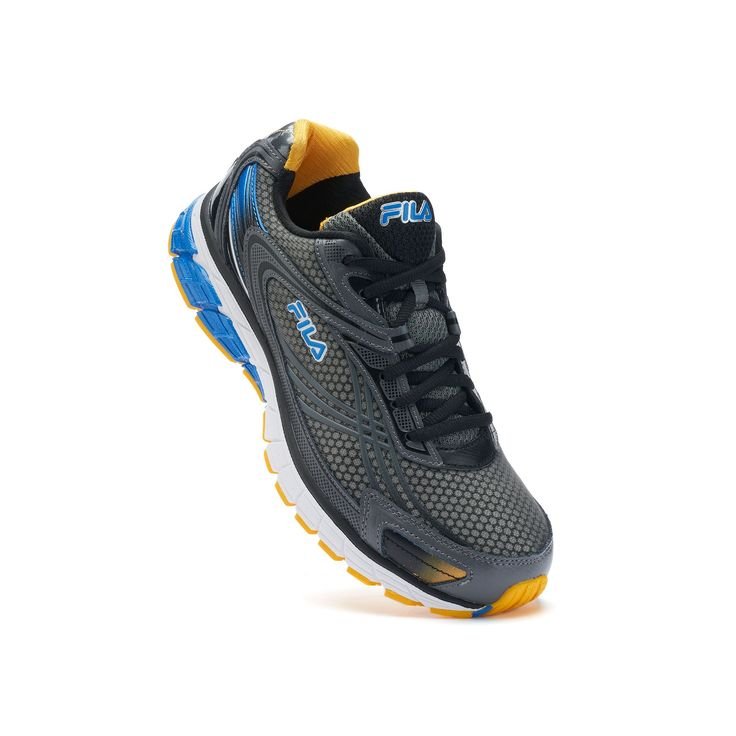 Fila® Nitro Fuel 2 Energized Men's Running Shoes - Endorsed by Shaun T, Size: 10.5, Grey Other