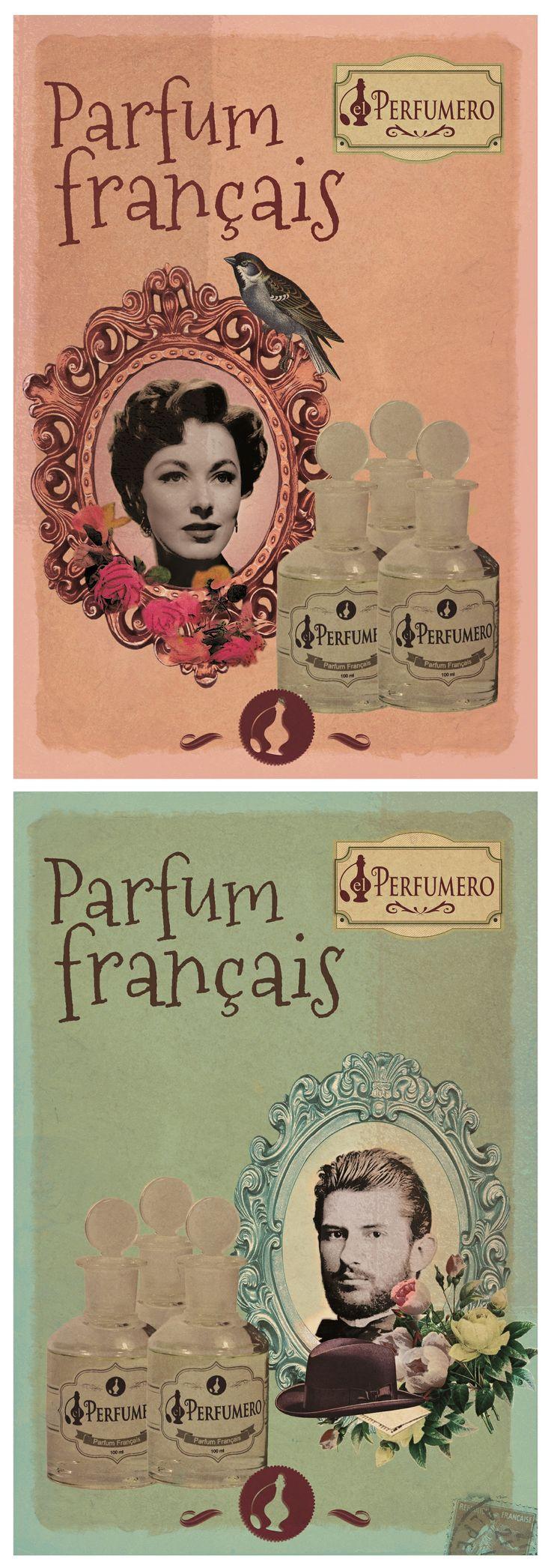 Poster Antique El Perfumero