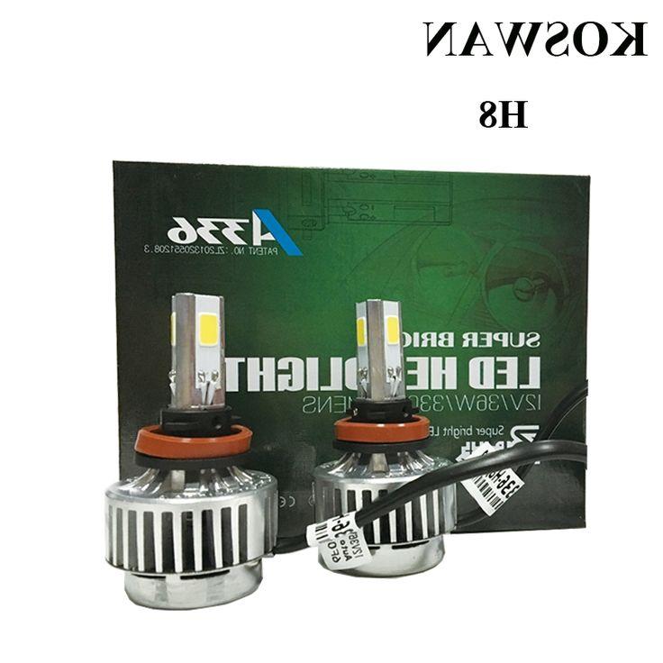 35.00$  Buy here - https://alitems.com/g/1e8d114494b01f4c715516525dc3e8/?i=5&ulp=https%3A%2F%2Fwww.aliexpress.com%2Fitem%2FA336-Series-All-In-One-H8-Car-LED-Headlight-Bulb-H8-33W-3300LM-LED-Headlight-Bulb%2F32478651167.html - A336 Series All In One H8 Car LED Headlight Bulb H8 33W 3300LM LED Headlight Bulb 6000K  White COB LED Headlamp Bulb Lamp Light