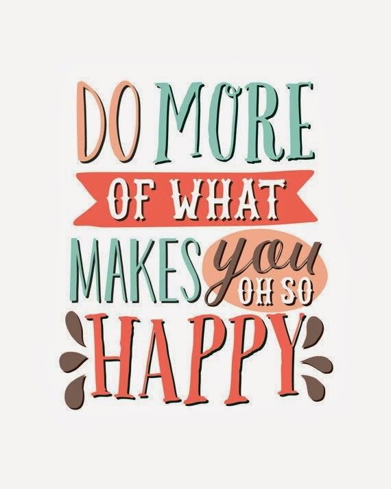 The New Year Project: Do More of What Makes You Happy | from melandbrent.blogspot.com