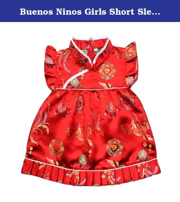 Buenos Ninos Girls Short Sleeve Cheongsam Baby Qipao Patterned Cloth Set Phoenix M. Sizes chart as follows S:Bust:22.8''.Top length:13.77'',Waist Elastic 12.5''relaxed to 20''fully stretched.Shorts Length:7.8''.Fit for 6-12month M:Bust:24.4''.Top length :14.9'',Waist Elastic 14''relaxed to 25''fully stretched.Shorts Length:8.6''.Fit for 1-2years L:Bust:25.9''.Top length :16.5''.Waist Elastic 16'' relaxed to 30''fully stretched.Shorts Length:9''Fit for 2 -3years XL:Bust:27.55''.Top length...