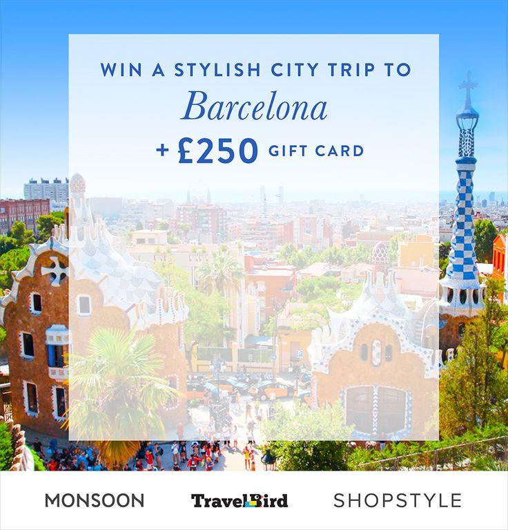 Win A Trip To Barcelona
