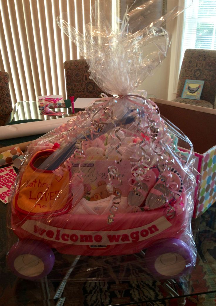 Welcome Wagon for baby shower