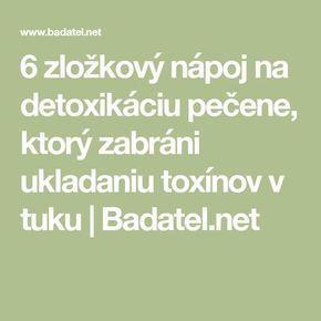 6 zložkový nápoj na detoxikáciu pečene, ktorý zabráni ukladaniu toxínov v tuku | Badatel.net