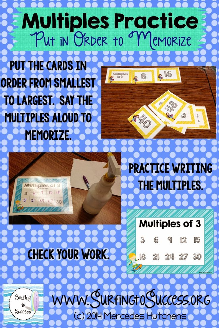 Best 25 memorizing multiplication facts ideas on pinterest using multiples to memorize multiplication facts gamestrikefo Gallery