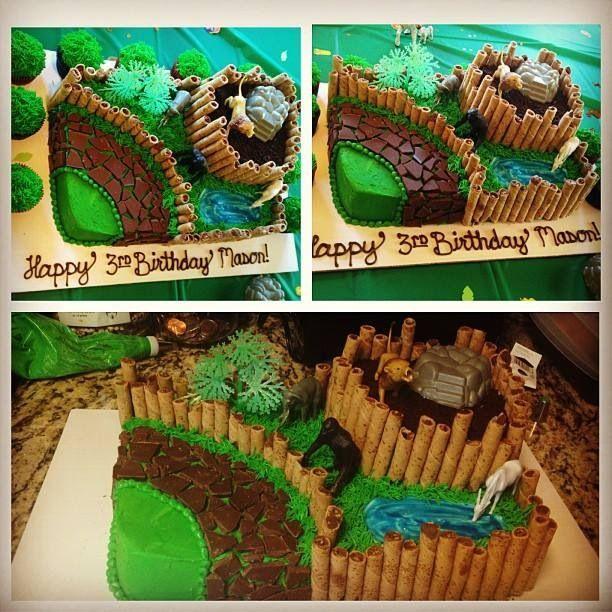 25 Best Zoo Cake Images On Pinterest