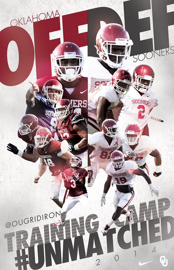 2014 Oklahoma Football on Behance