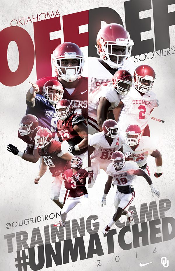 2014 Oklahoma Football on Behance