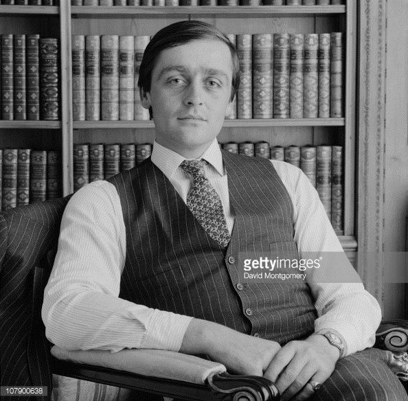 Gerald Grosvenor, the 6th Duke of Westminster, 24th October 1984. The Sunday Times Rich List 2010 ranked him as the third richest person in the UK.