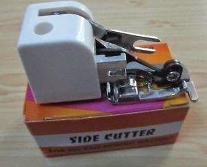 Este prensatelas vale para maquinas domesticas de caña baja        y necesita que su maquina tenga puntada overlock para darle mejor acabad...