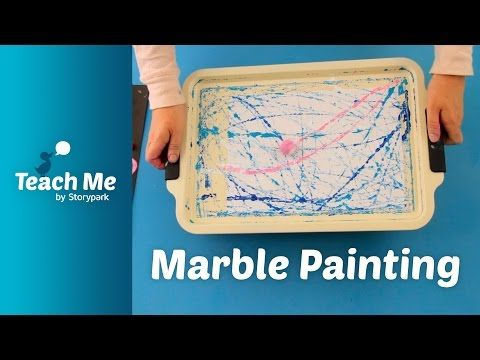 Teach Me: Marble Painting - YouTube