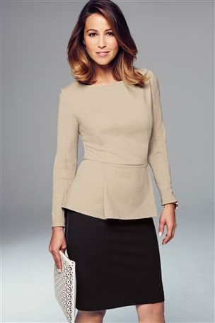Workwear by Next modelled by Rachel Stevens
