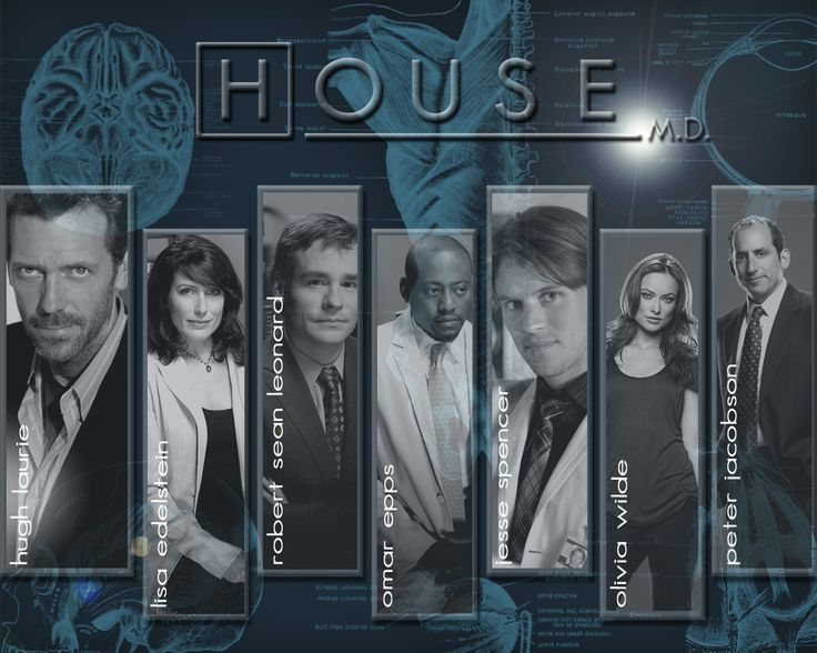 HOUSE, M.D.  The series follows the life  cure very ill ordinary people in the United States of America.  CASTS: •Hugh Laurie/Dr. Gregory House   •Omar Epps/Dr. Eric Foreman  •Robert Sean Leonard/Dr. James Wilson •Jesse Spencer/Dr. Robert Chase  •Lisa Edelstein/Dr. Lisa Cuddy  •Bobbin Bergstrom/Nurse/ER Doctor  •Jennifer Morrison/Dr. Allison Cameron  •Peter Jacobson/Dr. Chris Taub  •Olivia Wilde/Dr. Remy 'Thirteen' Hadley