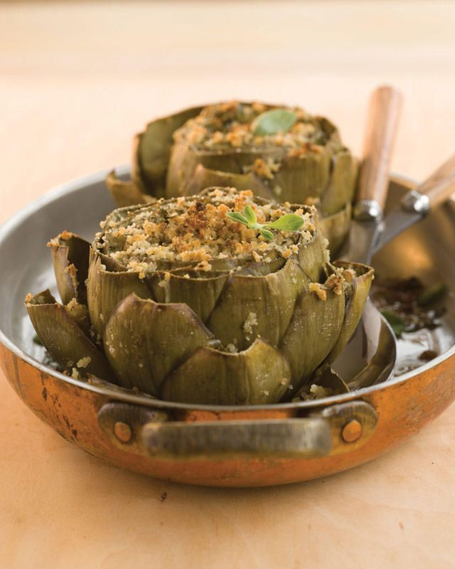 Garlic-and-Herb Baked Artichokes | TheNest.com