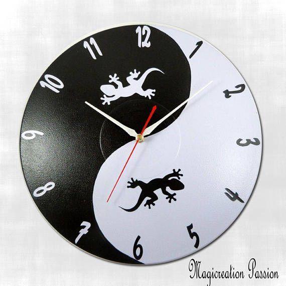 les 51 meilleures images du tableau horloges silencieuses sur disques vinyles sur pinterest. Black Bedroom Furniture Sets. Home Design Ideas
