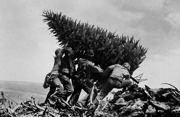 BOMBSHELL: Muslim Terrorists, Alongside Other Evil Cults Declared War On Christmas But The Brave Christian Warriors Today Defeated Them All By Lifting Up The Christmas Tree