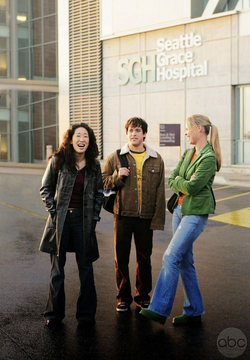 Imagem de grey's anatomy, george o'malley, and cristina yang