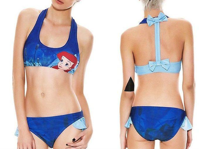 trajes de baño para mujeres inspirados en Disney | ActitudFEM