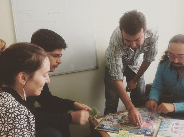 Junto a @lideresbiobio #terranovup #seriousgame #gamification #educationbusiness #businessmodel #businessmodelinnovation #gamefuldesign #lideresbiobio #gamethinking