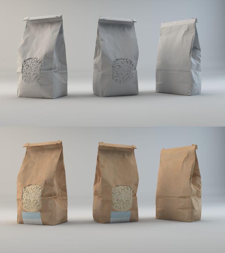 Porridge_bag Photogrammetry exercise, Ivan Martinez Casas on ArtStation at https://www.artstation.com/artwork/brQGo