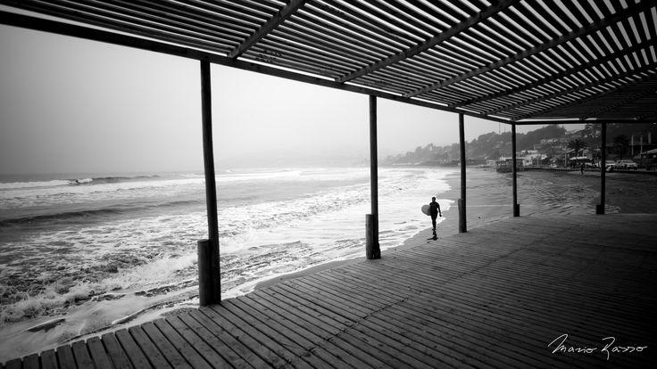 Cloudy / 11:17, Searching the horizon