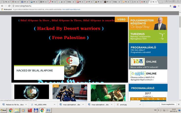 Meghekkelték Nyíregyháza honlapját - http://hjb.hu/meghekkeltek-nyiregyhaza-honlapjat.html/