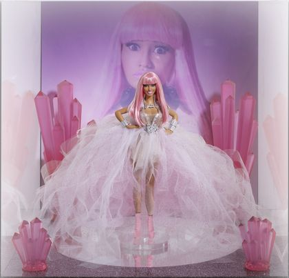 Nicki Minaj pink friday Barbie Doll
