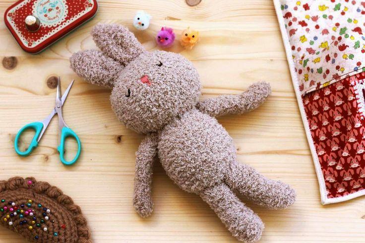 chica con flequillo, bunny, crochet, amigurumi