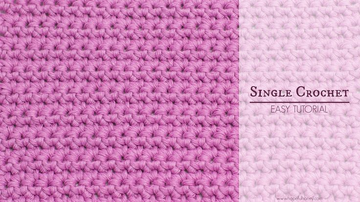 how to join yarn in crochet single stitch