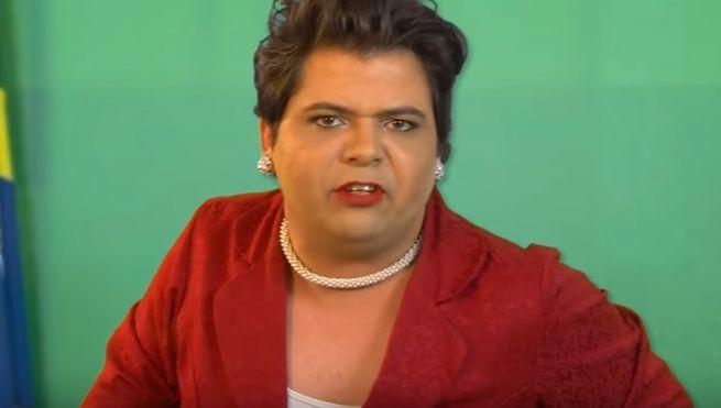 O ator Gustavo Mendes, que faz sucesso no YouTube interpretando a presidente Dilma em vídeos humorísticos, fez um vídeo criticando as declarações de Feliciano.