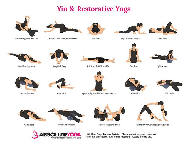 Restorative Yoga is so good for stress relief and weight loss.  Definitely a great, gentle way to start as a beginner with yoga poses, renewing your practice or just adding into your weekly routine.