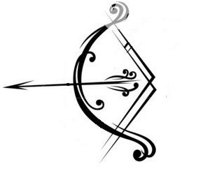Normally I don't like bow and arrow tats, but I like this.