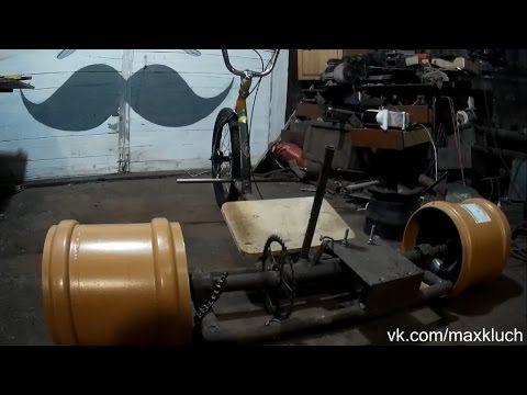 Motorized Drift Trike DIY Part 4 \ Дрифт трайк с двигателем Часть 4. - YouTube