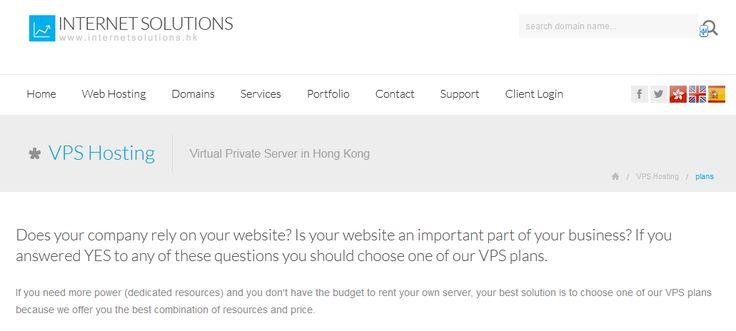 Cheap VPS server in Hong Kong, Best VPS provider in Hong Kong, HK VPS hosting -- Hong Kong VPS server --- http://www.internetsolutions.hk/vps.html